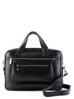 Чёрная прямоугольная сумка Karya предпросмотр