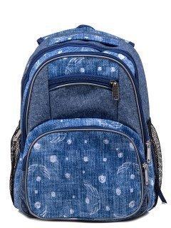 Голубой рюкзак Lbags предпросмотр
