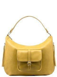 Жёлтая сумка мешок S.Lavia предпросмотр