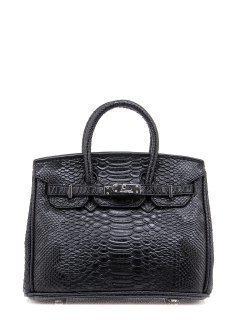 Чёрная сумка классическая Angelo Bianco предпросмотр