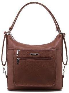 Коричневая сумка мешок S.Lavia предпросмотр