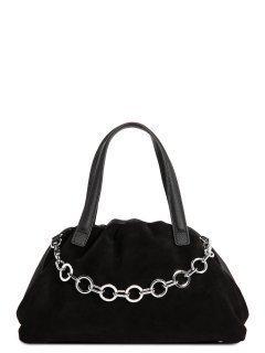 Чёрная сумка классическая Polina предпросмотр