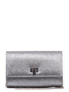 Серебряная сумка планшет Domenica предпросмотр