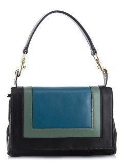 Синяя сумка классическая Gianni Chiarini предпросмотр