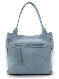 Голубая сумка классическая Arcadia предпросмотр