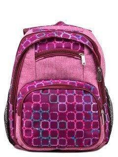 Розовый рюкзак Lbags предпросмотр