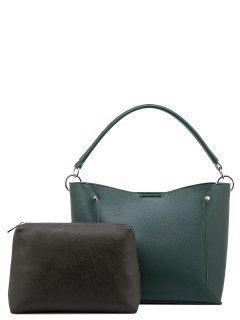 Зелёная сумка мешок S.Lavia предпросмотр