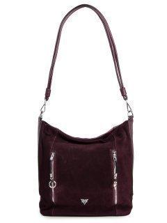Бордовая сумка мешок Fabbiano предпросмотр