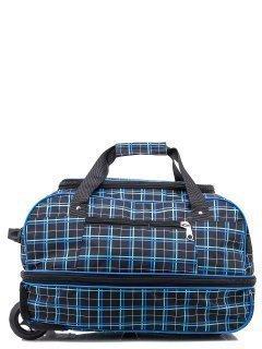 Голубой чемодан Lbags предпросмотр