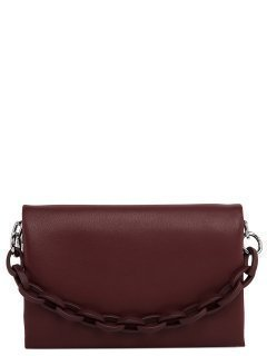 Бордовая сумка планшет Polina предпросмотр