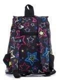 Чёрный рюкзак Lbags в категории Детское/Рюкзаки для девочек. Вид 4