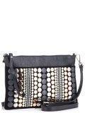 Чёрная сумка планшет Cromia в категории Женское/Сумки женские/Женские дорогие сумки. Вид 2