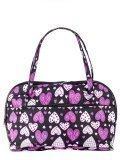 Чёрная дорожная сумка S.Lavia в категории Женское/Сумки дорожные женские/Дорожные сумки для ручной клади. Вид 1