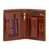 Рыжий бумажник Wallace в категории Мужское/Мужские аксессуары/Мужские бумажники. Вид 3