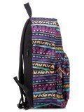 Фиолетовый рюкзак Angelo Bianco в категории Детское/Рюкзаки для девочек. Вид 3