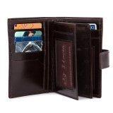 Коричневый бумажник Wallace в категории Мужское/Мужские аксессуары/Мужские бумажники. Вид 3