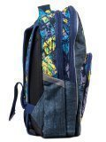 Синий рюкзак Lbags в категории Детское/Рюкзаки для мальчиков. Вид 3